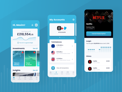 Smarta ui app design design