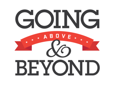 Above & Beyond Motto/Logo by Shannon Craver - Dribbble