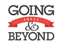 Above & Beyond Motto/Logo
