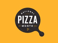 October is... National Pizza Month