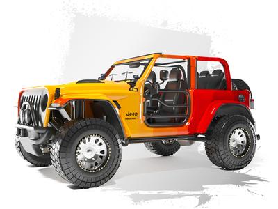Jeep Nacho 3d model