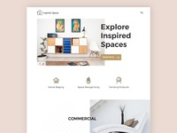 Inspired Spaces Website