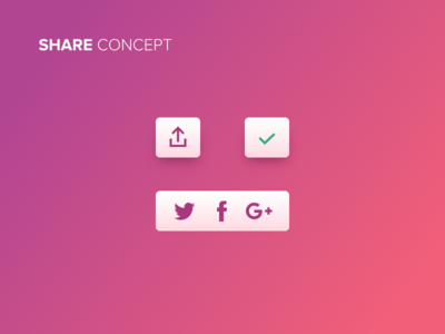 Share Button - Free Sketch File
