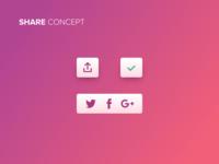 Share Button - Free Sketch File