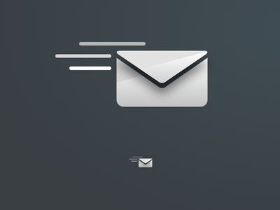 Icon concept - Email send e-mail mail illustration email icon