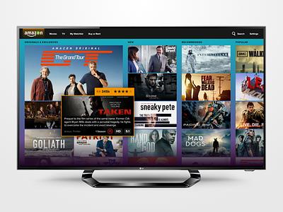 Amazon Video ui adobexd ratings movies films streaming tv amazon