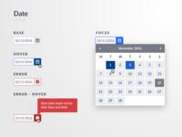 Date Picker / Calendar Component