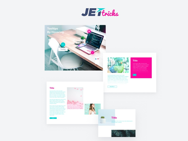 JetTricks plugin for Elementor by Crocoblock on Dribbble