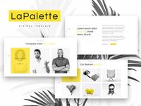 La Palette — Creative Minimal Elementor Template
