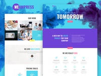 We Impress — Event Agency Elementor Template