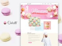 Dolcetti — Cakery Elementor Template