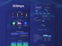 ICOnyx — Cryptocurrency Elementor Template