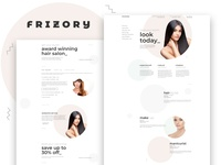 Frizory – Hair Salon Elementor Template