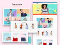 Brandson — Responsive Fashion Store Elementor Template