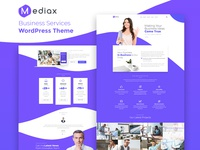Mediax — Business Services Elementor Template