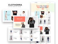 Clothorra — Fashion Shop Elementor Template