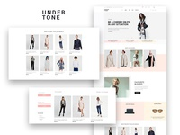Undertone — Clothes & Accessories WooCommerce Elementor Template