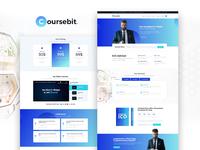 Coursebit — Bitcoin Trading Elementor Template