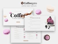Coffegato – Coffee Shop Elementor Template