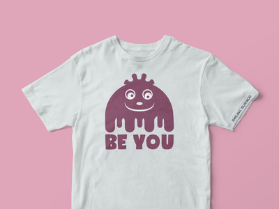 BeYou Series logo creation graphic design icon character design persona t-shirt t-shirts illustration idea
