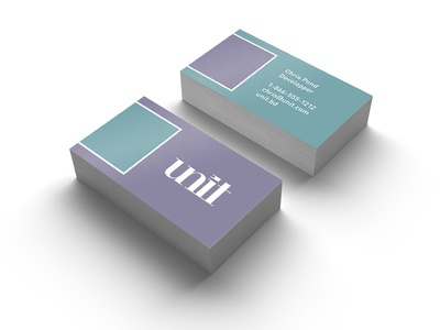 Unit biz cards