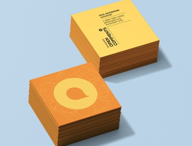 OpenComments Brand Identity/BizCards
