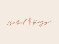 Hand Lettered Logo Design - Isabel Gregg