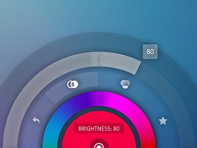 Radial Menu radial menu explore round menu ipad touch