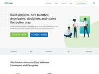 Eworker Website concept