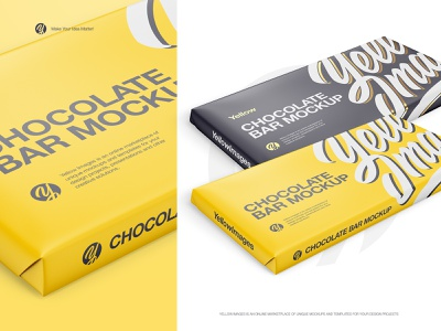 Paper Chocolate Bar Mockup sweet paper bar packaging package chocolate packaging chocolate bar chocolate psd mockup psd mockup psd mock up mock-up mockup branding abstract design graphic