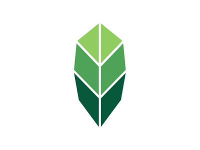 Leaf Logo leaf green logo
