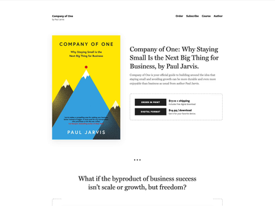 The Book Template landing page video html css single design author book