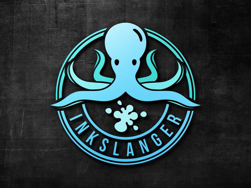 BABY Stationary LOGO vintage baby logo octopus stationary logo vintage logo badge logo logodesign flat logo logo design design branding logo