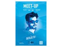 MeetUp WaxInteractive Poster