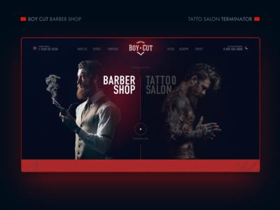 Boy Cut - Barbershop / Terminator - Tattoo salon