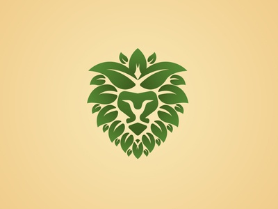 Lion Leaf Logo