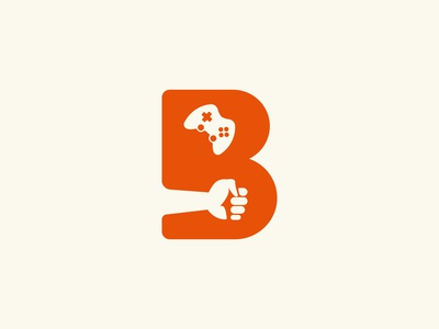 Letter   B   Brow Gaming Logo