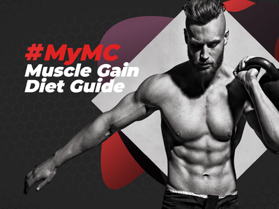 My Muscle Chef - Muscle Gain Diet Guide photography foodprep food sport gym muscles fitness male mens health responsive design webdesign webflow sketchapp photoshop