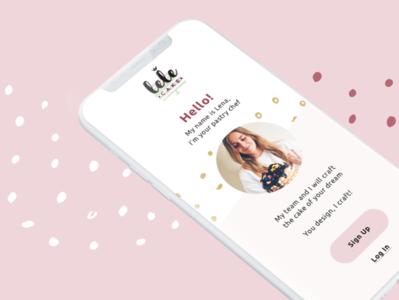 lele cake | app