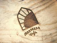 Marbeeda Cafe - on wood