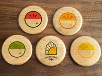 Marbeeda Cafe Coasters