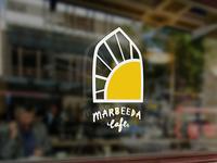 Marbeeda Cafe - Window Signage