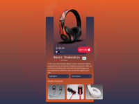Beats Audio Snakeskin Headphones UI