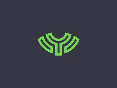 Y Icon Logo Concept