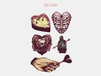 No Love: Flash Tattoo Design