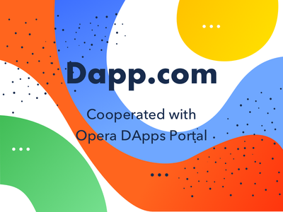 Opera DApps Portal Cooperated with Dapp.com platform blockchain opera ui web design product design