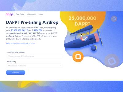 DAPPT Pre-listing Airdrop