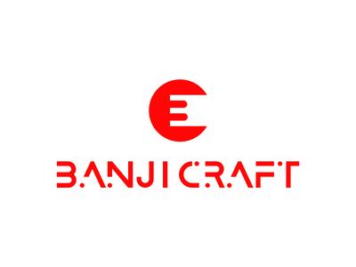 BanjiCraft Logo Design