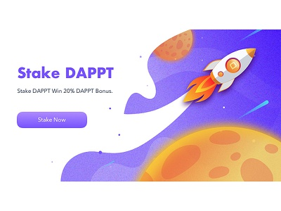 Stake DAPPT illustration