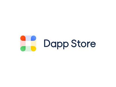 Dapp Store Logo Design brand design logo design
